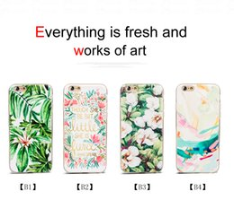 Wholesale Unique Phone Covers Floral Print Transparent Soft Cases for Cell Phone Best Phone Accessories for Iphone S Splus C15