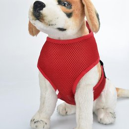 Dog Harness Puppy Pet Harness high quality nylon mesh harness Safety Nylon Pet
