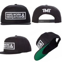 Wholesale 2015 HARD WORK DEDICATION TMT the money team men hip hop street caps snapback hats free drop shipping LX
