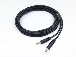 Audio cable stereo 3.5mm male to male 3m 5m 10m PC Speaker MP3 AUX TV Sound line