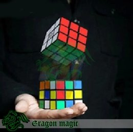 Wholesale 2015 Flash Cube Restore Eragon Close Up Penetration Magic Tricks magia magie toys retail and