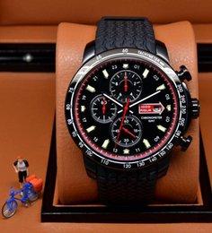 Wholesale 2016 New style luxury watches men quartz chronograph watch miglia sport rubber band wristwatch floding clasp