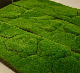 Wholesale Artificial Grass Floor Moss Lawn Plant Wall Dress Turf Sod Meadow Home Garden Decor EPE Fluffy Emulation Moss Turf