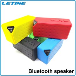 Wholesale S01 X3 Mini Portable Wireless Bluetooth Speaker HIFI Car Handfree with MIC Micro SD Loud Subwoofer Music MP3 Player for iPhone Plus S5 S6
