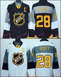 Wholesale 2016 NHL All Satr John Scott Hockey Jersey All Star Ice Hockey Jerseys Authentic Scott MVP Jersey C Patch Size S XL