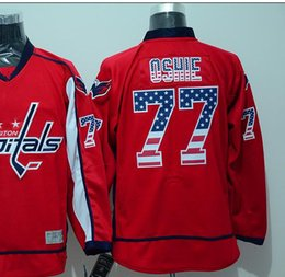 Wholesale 2016 New USA national flag Washington TJ Oshie Red Jersey Ice Hockey Jersey Men s Fashion All Stitched Polyester