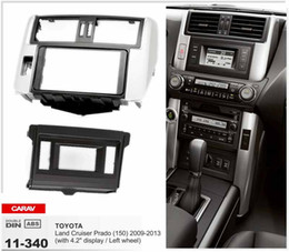 "CARAV 11-340 Top Quality Radio Fascia for TOYOTA Land Cruiser Prado (150)(with 4.2""display)Fascia Dash CD Trim Installation Kit"