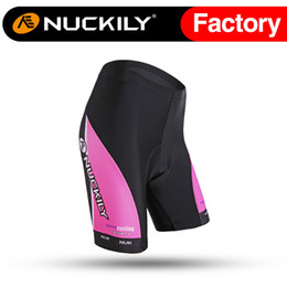 Wholesale Nuckily Hot selling contrast colour paneling cycling bicycle shorts Ladies high quality with soft hand feeling outdoor short pants BK271