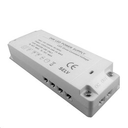 Ultra-thin 24W LED power Supply Adapters 100-240V AC to 12V DC 2A For Under Cabinet Puck Light