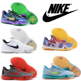 Wholesale Nike Kobe X Elite Basketball Shoes for Men World Basketball ship Beethoven Athletic Leather Outdoor Indoor Sport Sneakers