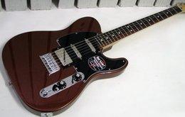 Wholesale New highest quality Blacktop Baritone Tele Classic Copper Electric Guitar
