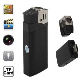V18 Lighter Camera Full HD 1080P Mini DV Lighter Video Recorder DVR Camcorder Portable with highlighted flashlight