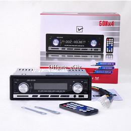 Wholesale In Dash DIN Car Vehicle Audio Stereo V FM Receiver MP3 Player Bluetooth Car Kit Handsfree Charging w USB SD MMC Port