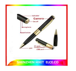 Wholesale Best Selling avi HD Spy pen Camera hidden Pen DVR Micro SD Card Hidden camera