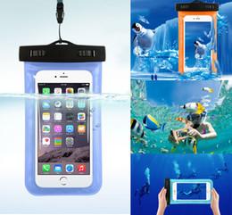 Wholesale Cubierta seca subacuática universal de la caja del filtro de la bolsa impermeable universal para el iPhone más iphone6 Samsung Galaxy s6 nota LG g3