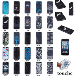 Wholesale 3D Flower Soft TPU case Anti skid Deer Bear Butterfly Girl camouflage For Ipod Touch Samsung Galaxy J7 LG G4 H810 VS999 F500 skin Luxury
