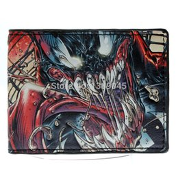 Wholesale Batman Vs Zombies wallet Boys and girls fashion purse Young students personality animated cartoon wallet DTF