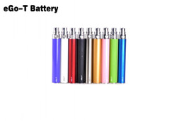Good Price eGo-T Battery 650mah 900mah 1100mah eGo T Battery for ego Electronic Cigarettes E Cigarettes Kits Various Colors In Stock