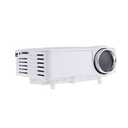 New!! Portable LED Video TV Beamer Projector for Home Theater Cinema Multimedia Player with HDMI  AV VGA SD USB Black White