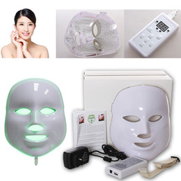 New Led Facial Mask Photon Light (Green Red Blue Color) Face Skin Care PDT Mask for Wrinkle removal Anti Skin Pigment etc