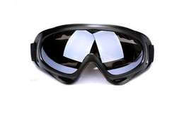 Wholesale 2015 New Outdoor Windproof Glasses Ski Goggles Dustproof Snow Glasses Men Motocross Riot Control Downhill MBI