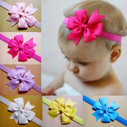 ribbon bows hair bow with soft headband,baby headband,hair accessory hairband 24pcs lot free shipping