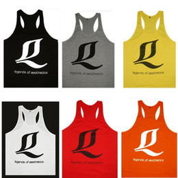 Brand men gym tank tops bodybuilding fitness clothing singlets men cotton undershirt vest men tank top Gym Sport Sleeveless T Shirt