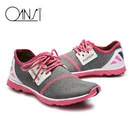 Wholesale-2016 Comfortable Women Sneakers Aqua Shoes Breathable Women Light Walking Water Shoes Women Shoes