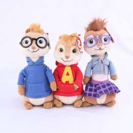 Wholesale 2015 Alvin and the Chipmunks The Road Chip CM Alvin Plush Toy Stuffed Doll