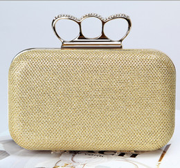 Wholesale Factory brand new handmade adorable evening bag clutch purse with satin for wedding banquet party porm brides maids(More colors)