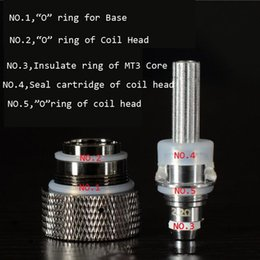 Silicone Seals Atomizer Silicone Heater Insulated Ring Replaceable Coil Head O Ring for MT3 H2 Atomizer Protank Clearomizers