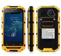 "Original Android Phone Discovery V6+ V6 MTK6572 Dual Core 4.0"" HD Screen 512MB RAM 4GB ROM IP68 3G Waterproof Shockproof Smartphone"