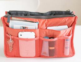 Hot sale cheap wholesale 10 colors double zipper Women Men Casual travel multi functional Make up Cosmetic Bags