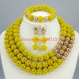Women Party Gold Plated African Beads Jewelry Sets Crystal Cross Necklace Bangle Earrings Ring Wedding Dress Accessories Costume BS306-9