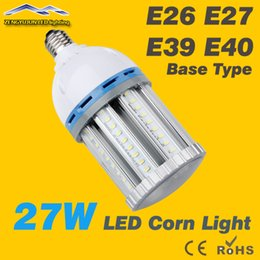 Wholesale Super Bright w Led Corn Bulb Light E26 E27 E39 E40 B22 Led Garden Lamp Led High Bay Lights