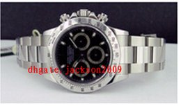 Wholesale Factory Supplier Luxury Watches New Black Dial Stainless Steel Automatic Mens Men s Watch Watches