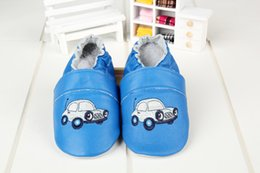 Wholesale Baby Girl and boys car Shoes Toddlers Leather Upper Decorated First Walkers Soft Sole Princess Spring Autumn Footwear