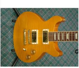 envío gratis ! Nueva Hermosa venta caliente Estándar cortada doble de la guitarra eléctrica en la acción desde guitarra corte envío libre proveedores