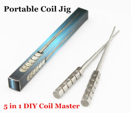 Wholesale Micro Coil Jig Master Coil Tool Micro Coil Wick Jigs in Screwdriver coil winder For DIY RDA RBA Rebuildable Atomizer