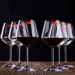 Wholesale Germany Brand Super Capacity of ML Crystal Glass Red Wine Glasses Top Grade Leadfree Stemware Champagne Flute Goblet