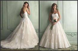 Wholesale Robe de mariée en satin sans manches en satin de mariée