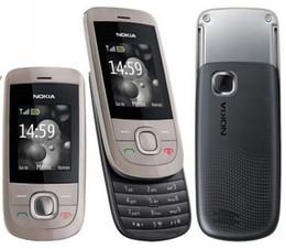 Cheap Unlocked original nokia 2220 860mAh battery 640 x 480 pixels slide Mobile Phones Refurbished Phone