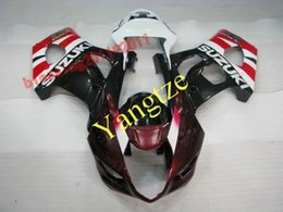 BEST VALUED FAIRING KIT for GSXR 1000 03-04 GSXR 1000 2003 2004 03 04 GSXR1000 GSXR1000 2003 2004 RED