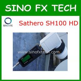 Buscador hd sathero en venta-la nave libre 2016 del origina DVB-S2 Sathero SH-100HD Buscador de satélite digital de bolsillo Medidor de Satélite HD Sathero SH100