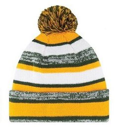 Wholesale new arrival winter Green Bay hat for men and women american football Packers Keep Warm Knitted Bengals Cap