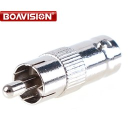 BNC Connector female to RCA Connector Adapter Plug Adapter for CCTV system DVR tester 10pcs lot