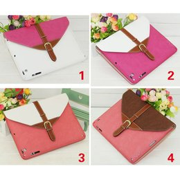 Wholesale Best Selling Rotating Belt Leather Case Smart Cover Stand for iPad Colorful Case for iPad churchill