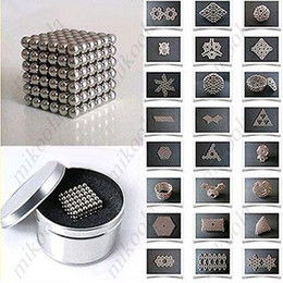 Wholesale 216 x mm Magic Magnet Magnetic DIY Balls Sphere Neodymium Cube