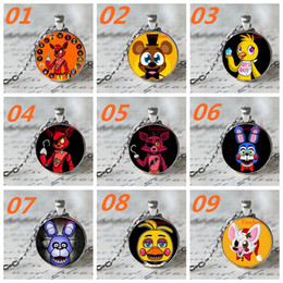 DHL free 12 styles fashion New necklace five nights at freddy's Necklace Top quality Five Nights At Freddy's 4 FNAF necklace pendants D50