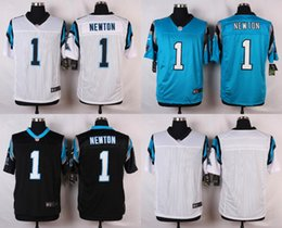 Wholesale Factory Outlet Carolina Pants Cam Newton Men Womens Kids Baby Blank White Blue Black with Super Bowl Patch Jerseys